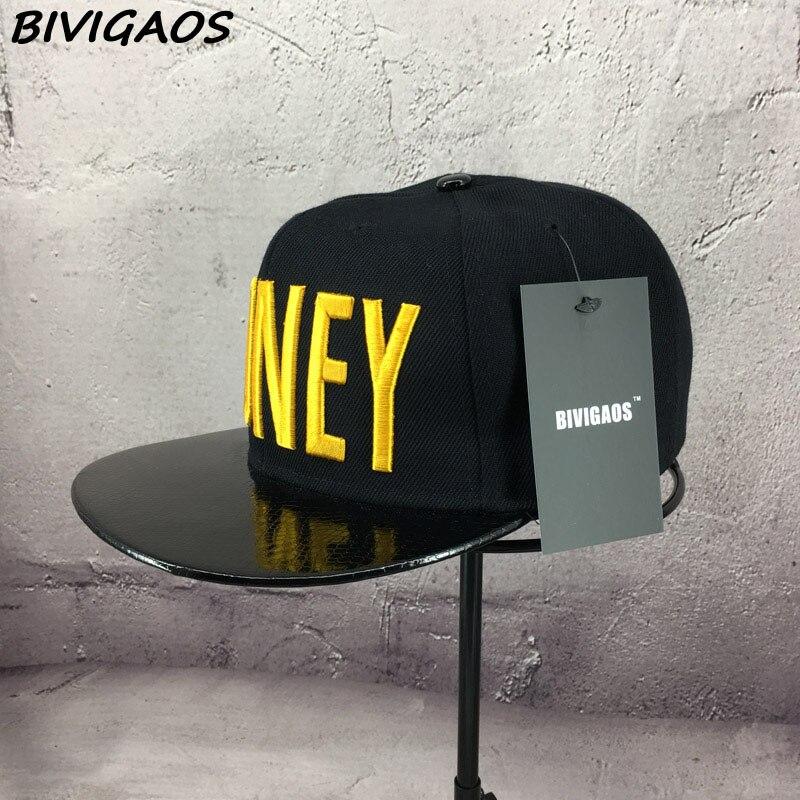 Новые модные мужские и женские повседневные кепки Snapback Swag MONEY Letters 3D Вышивка Хип-Хоп Кепка бейсбольная кепка s Bone Gorras для мужчин и женщин