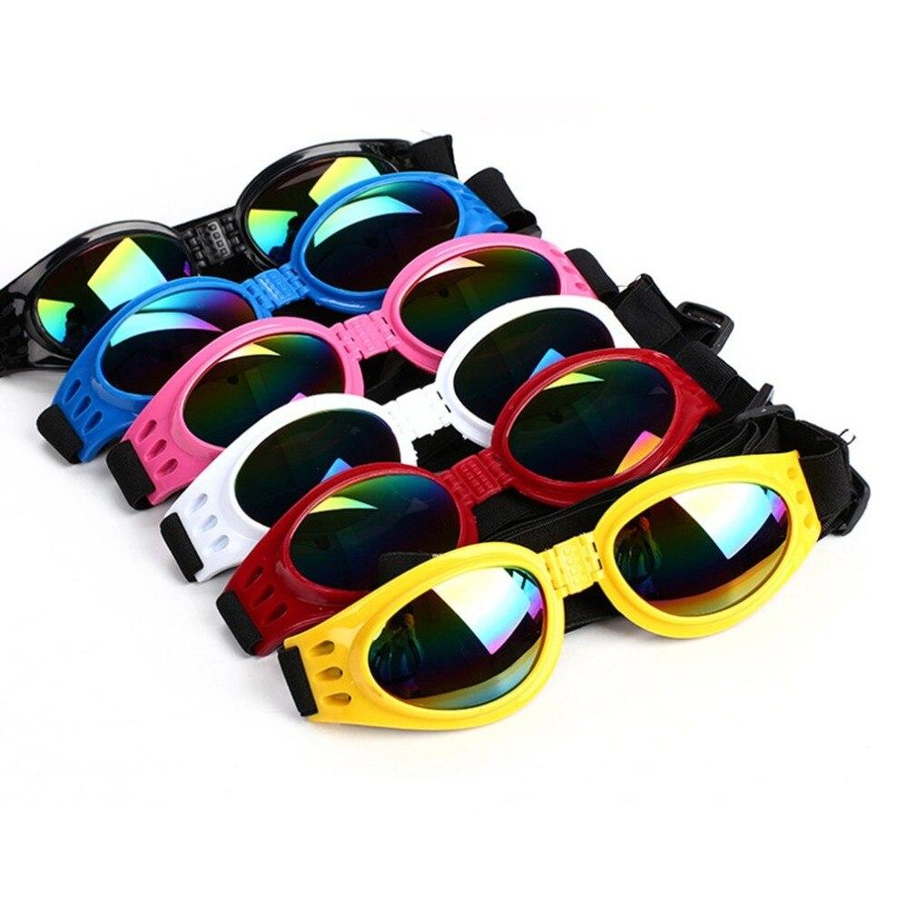 NOVA Verão óculos de Sol Do Cão Pet Eye Wear Proteção À Prova de Vento Óculos de Proteção Multi-Cor Da Moda À Prova de Água-Suprimentos Para animais de Estimação produtos