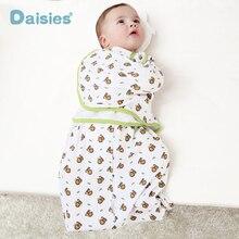 Swaddleme cotton infant parisarc newborn thin baby wrap envelope swaddling swaddle me Sleep bag Sleepsack