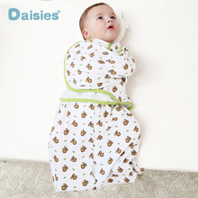 Swaddleme cotton infant parisarc newborn thin baby wrap envelope swaddling swaddle me Sleep bag Sleepsack