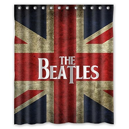 Lovely The Beatles London Flag Waterproof Shower Curtains Bathroom Products  Polyester 160x180cm Bathroom Shower Curtain