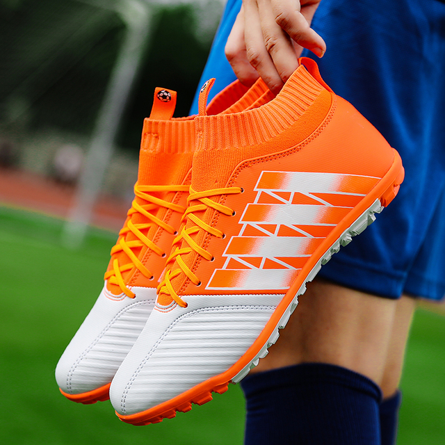 Men's Soccer Shoes TF Futsal Hard Court Turf Football Boots Indoor Sock Cleats Trainer Cheap Botas Chuteira Futsal Shoes