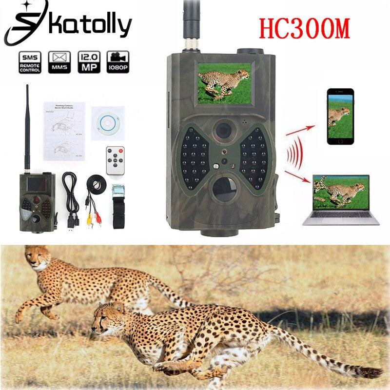 Skatoll HC300M 940NM Night Vision font b Hunting b font Camera HD 1080P GPRS MMS Digital