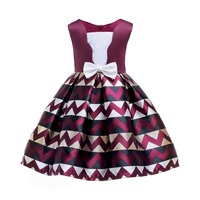 Girls Dresses Girls Ball Gown Kids Princes Dress For Wedding Children Clothing Fashion Cute Baby Girl Clothe For Party YCPD1830