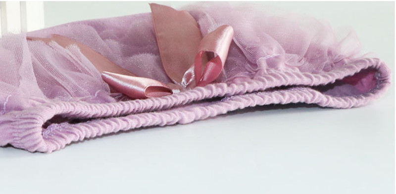 Körpə Bloomers Princess Yay Qızlar Qısa Şalvar Ruffle Mesh Bow - Uşaq geyimləri - Fotoqrafiya 3