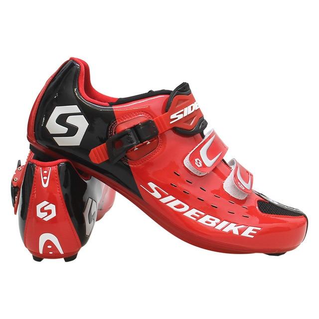Sidebike calçado de ciclismo masculino, novo sapato esportivo antiderrapante e resistente para estrada e ciclismo ao ar livre sapatos com calçados 3