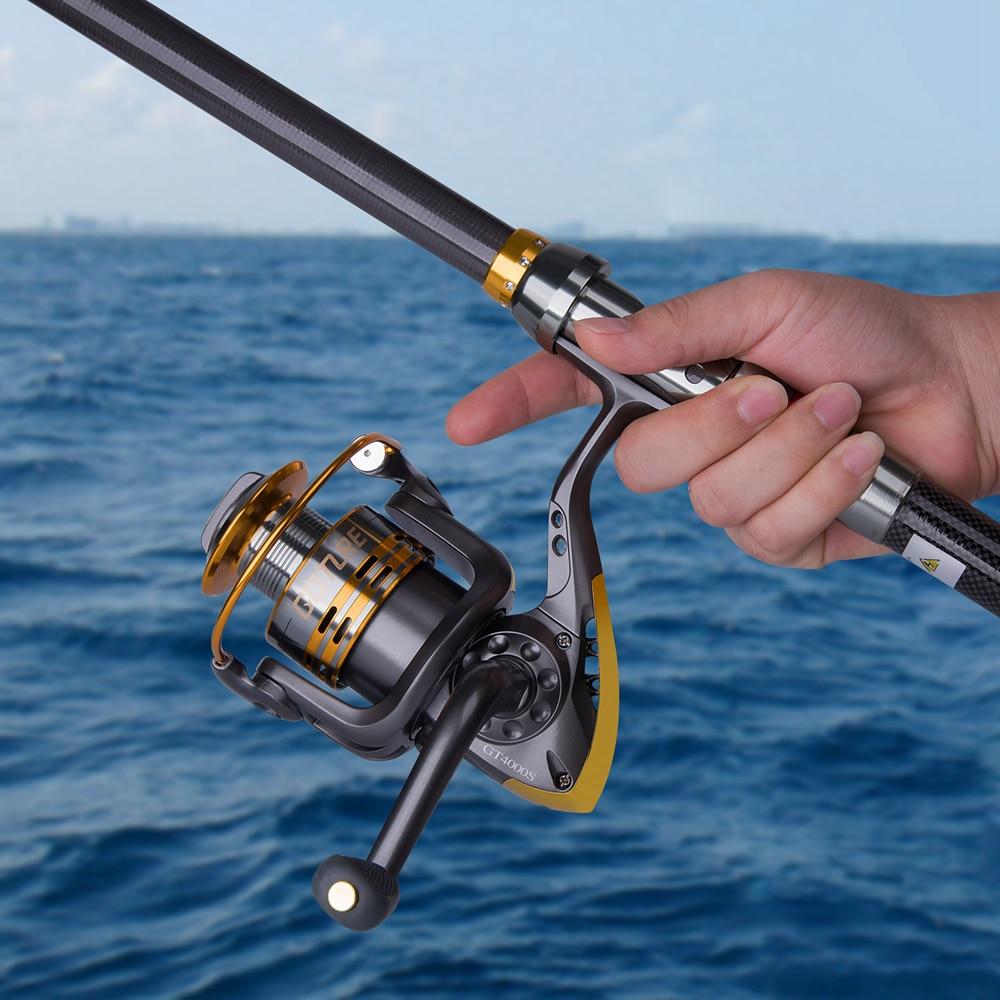 Goture Spinning Fishing Reel Metal Spool Coil 6BB Voor Zoetwater - Visvangst - Foto 2