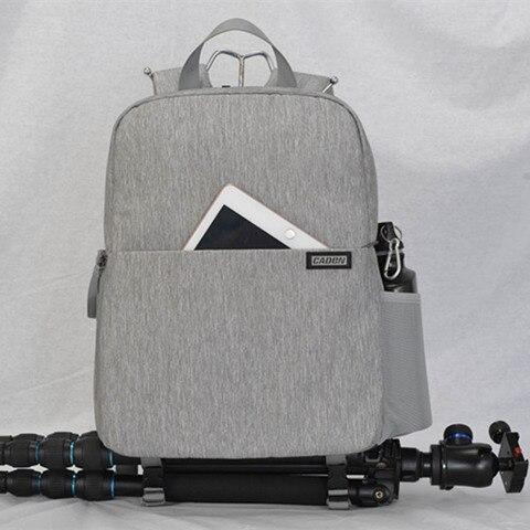 "Camera Bag Digital Camera Videos Bag Waterproof Laptop 14"" School Casual Photo Bag for Canon Nikon Sony Camera Backpack Karachi"