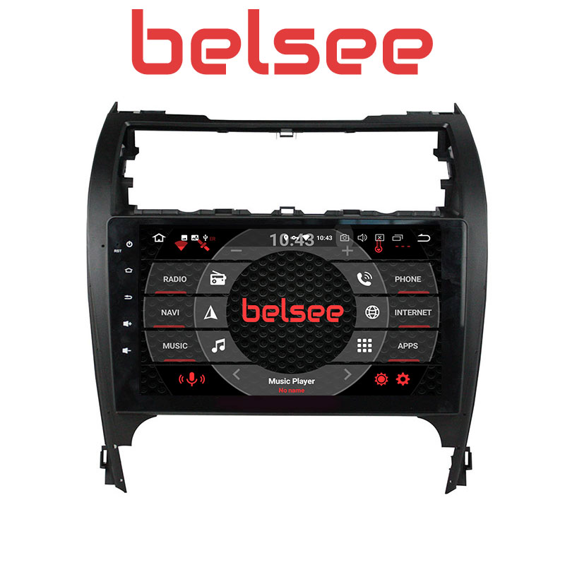 Belsee10.1 IPS Touch Screen for Toyota Camry 2012 2017 Android 8.0 Car Radio 4GB Stereo GPS Navigation Bluetooth WiFi Autoradio