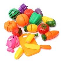 Притворись готовить овощной образовательные фрукты питание играть резки косплей кухня шт./компл.