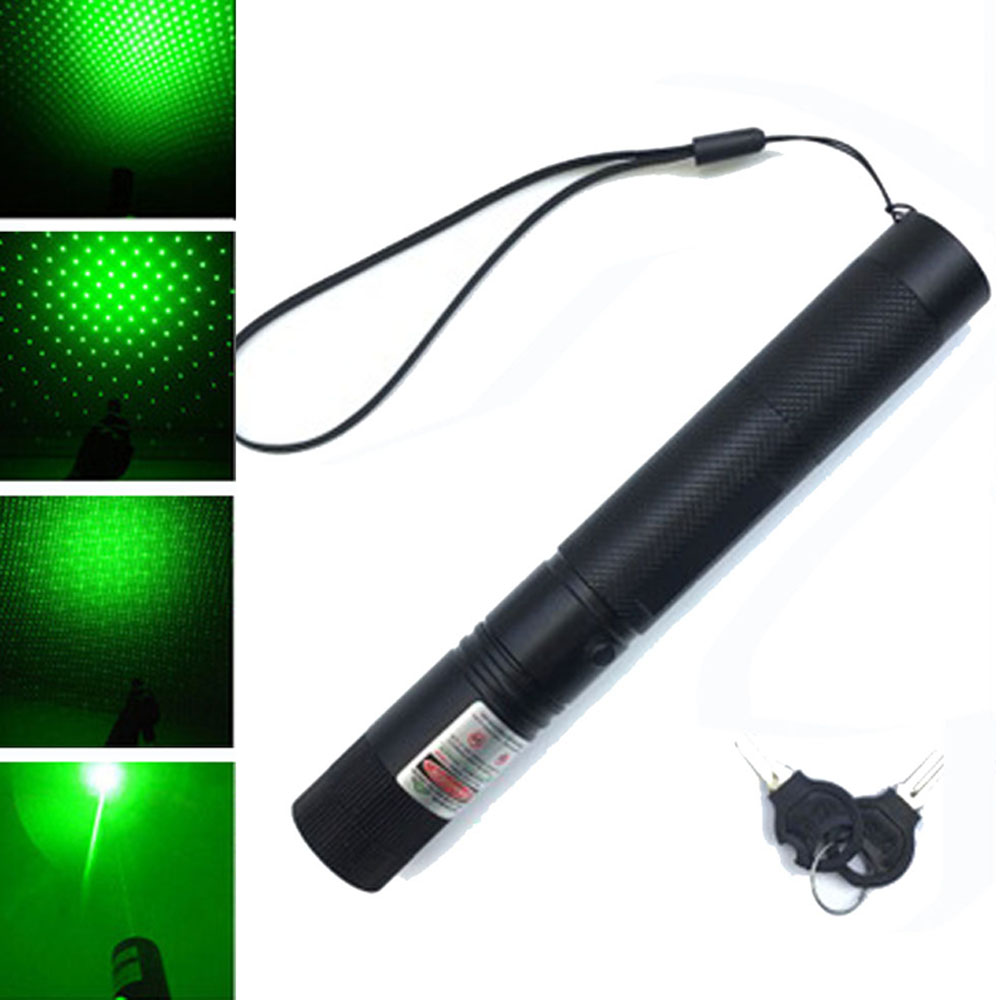 High Power Blue Red Green Laser Pointer Adjustable laser Pen 303 Continuous Line 500 to1000 meters Laser range|Lasers| |  - title=