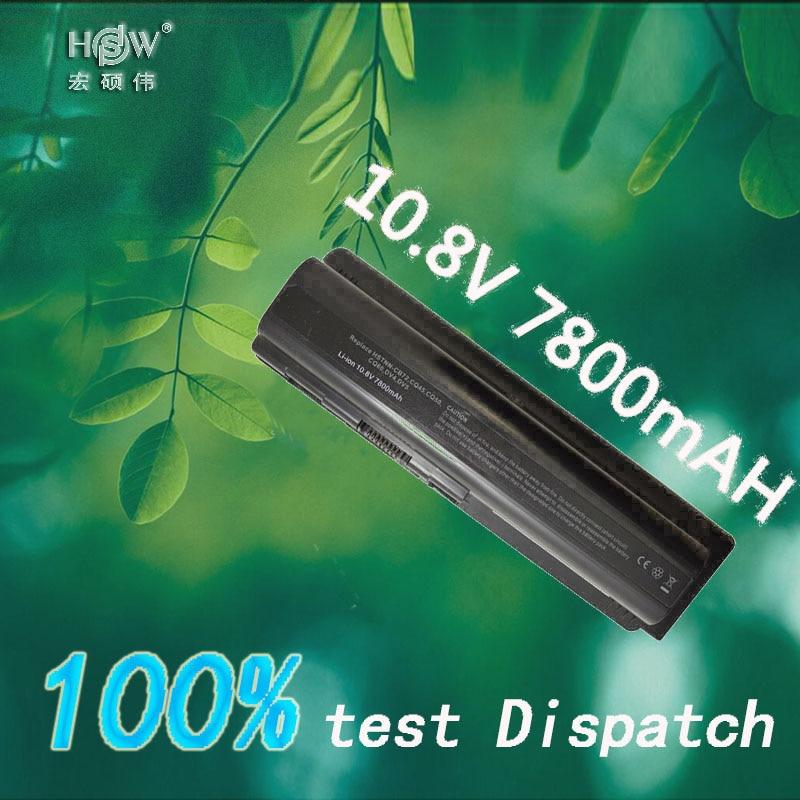 HSW batterie d'ordinateur portable pour Compaq Presario CQ50 CQ71 CQ70 CQ61 CQ60 CQ45 CQ41 CQ40 Pour hp pavilion DV4 DV5 DV6 DV6T G50 g61 batterie