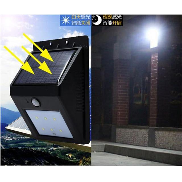 aliexpress com buy outdoor waterproof solar energy induction lamp