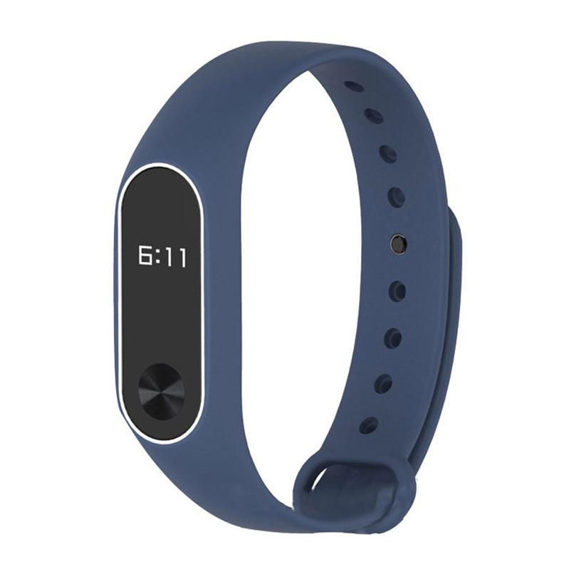 WristBand For XIAOMI MI Band 2 New Fashion Original Silicon Wrist Strap Bracelet Replacement free shipping drop shipping 0802
