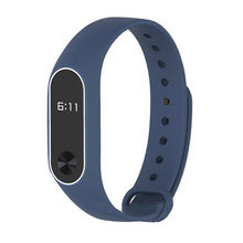 WristBand For XIAOMI MI Band 2 New Fashion Original Silicon Wrist Strap Bracelet Replacement free shipping drop shipping 0802(China)