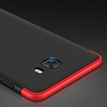 C9 Pro For Samsung Galaxy C9 Pro Case Dual Armor 360 Full Protection Hard Hybrid PC 3 In 1 Matte Phone Cover For galaxy C9 Pro цены