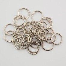 цена на Brief Metal Binder Ring Loose Leaf Book Binder Hoop Ring Multi functional  Circle Book Binder Hoop Office Binding Supply