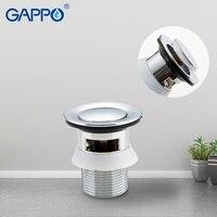 GAPPO Drains Bathtub Pop Up Drains Basin Homemade Sink Drain bathroom drain strainer Bathroom Shower Drainers Strainers