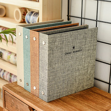 Polaroid Album 3 Inch 5 Insert Cotton And Linen Loose-Leaf Pocket Fuji MINI Photo Paper Universal