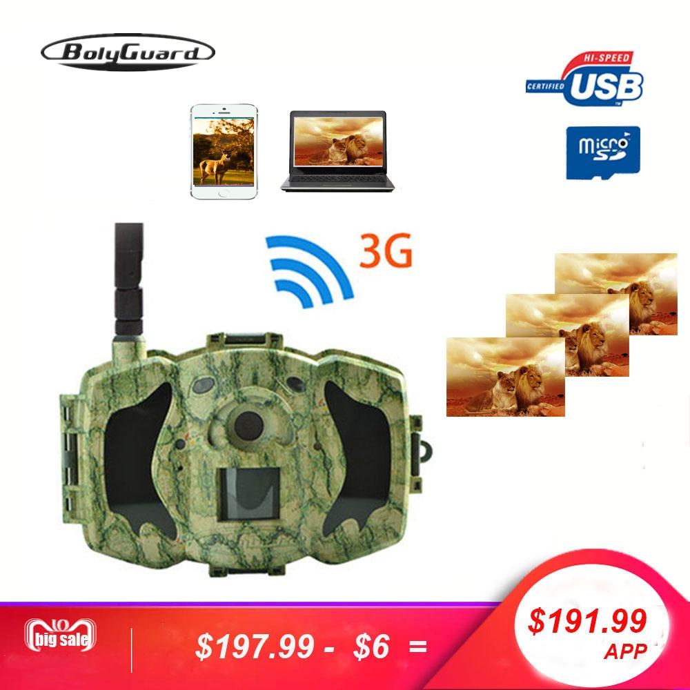 Bolyguard 30MP 1080 p HD Caccia Traccia Della Macchina Fotografica 3g di Sicurezza Senza Fili di GSM del telefono MMS GPRS Impermeabile Anti Theft Foto fotocamera trappola