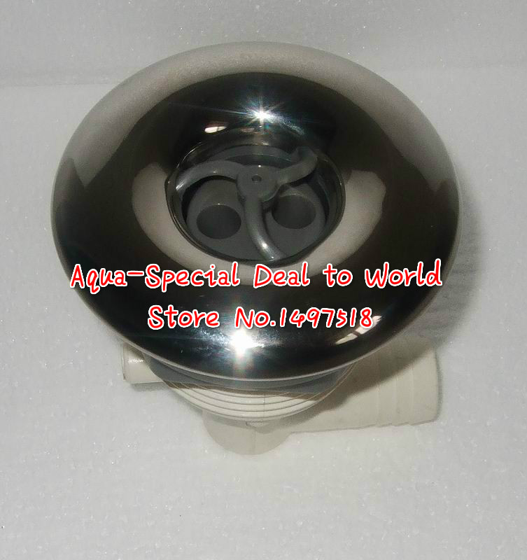 3.5 inch SS hot tub jets with two holes