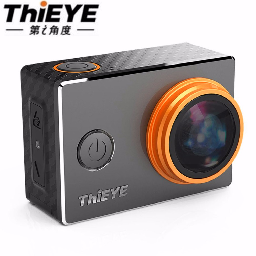 ThiEYE V5s 4K WIFI Zoom Action Camera 1080P/ 30fps 2.0 LCD 60M Waterproof 170 Degree Wide-Angle Mini USB 2.0 Sports Camara
