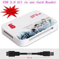 Alle in einem Super Speed 5 Gbps USB 3.0 SD Micro SD SDHC SDXC TF MS CF TF Kartenleser Adapter Für PC Laptop bis 256 GB