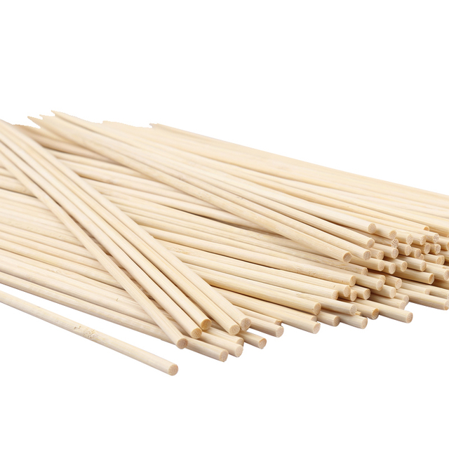 Pcs pack bbq party wooden skewers disposable