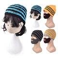 Мода Стиль Вязать Зима Теплая Борода Hat Cap Для Мужчин Женщин 4 Цвета