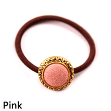 Hot Sale Fashion Sweet Girls Korean Style Tiara Elastic Hair bands Popular Hair Rope Hair Accessories