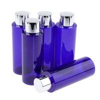 5 шт. 200 мл пустой многоразовый косметический лосьон Бутылочки для эфирного масла