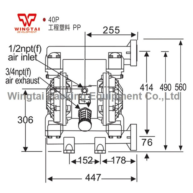 Online Shop 379l Min Corrosion Resistant Air Operated Transfer