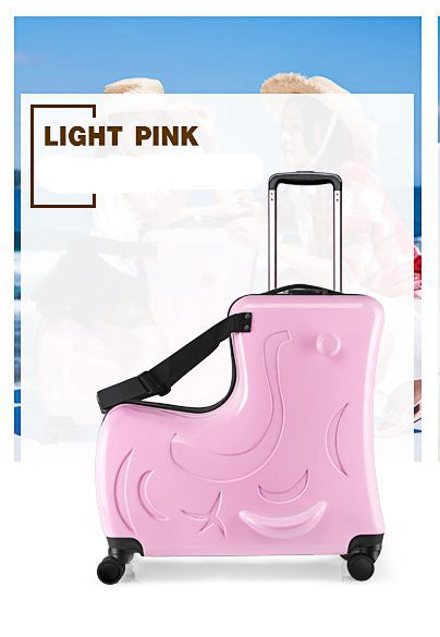 41d38b58a17d Children riding trolley case hardside luggage.TRAVEL  ASSISTANT.baby'gift.kids aluminium boarding bag.child waterproof suitcase-6