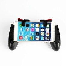 1 par L1R1 PUBG Gatilho Botão de Fogo Shooter Com Telefone Esperto Móvel Joysticks Controller Gamepad Para iphone Android Móvel