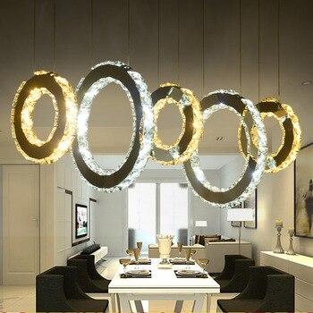 Moderno colgante de cristal de la lámpara de suspensión lámpara Para ...
