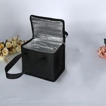 Сумка-холодильник для обеда, изоляционная, складная, для пикника, портативная, для льда, для еды, Термосумка, сумка для доставки еды, переноска для напитков, изолированная сумка