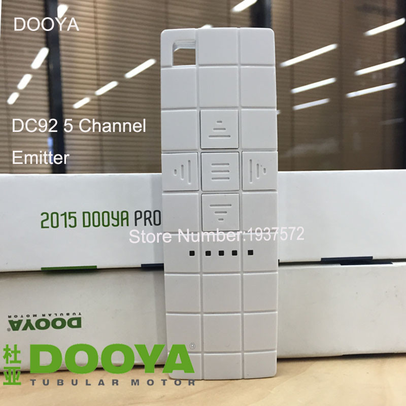 9-Original Dooya Home Automation Electric Curtain Motor KT320E-45W+DC92 5 Channel Emitter WIFI Control 220V50Hz 45W IOSAndroid