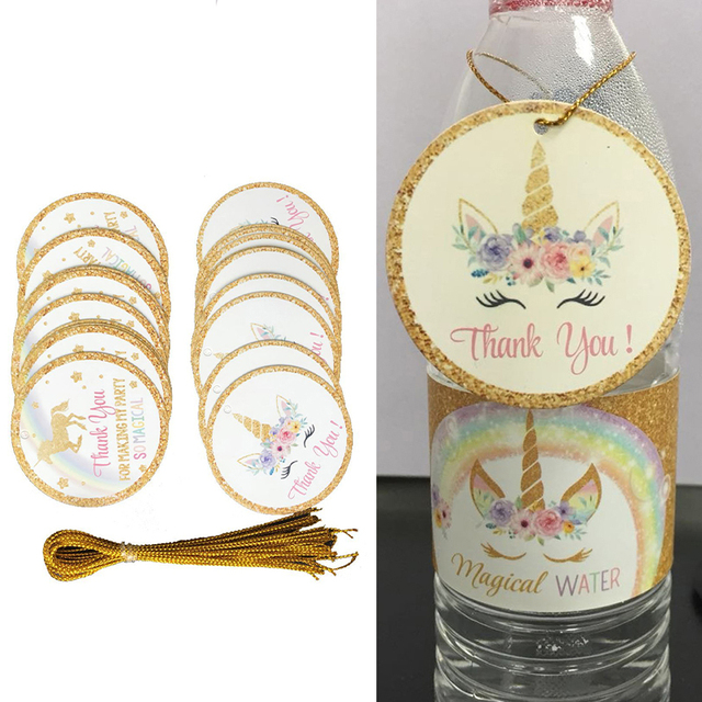 24pcs Thank You Tags Unicorn Gift Tags With String Baby Shower Birthday Wedding Party Supplies Thank  sc 1 st  AliExpress & 24pcs Thank You Tags Unicorn Gift Tags With String Baby Shower ...