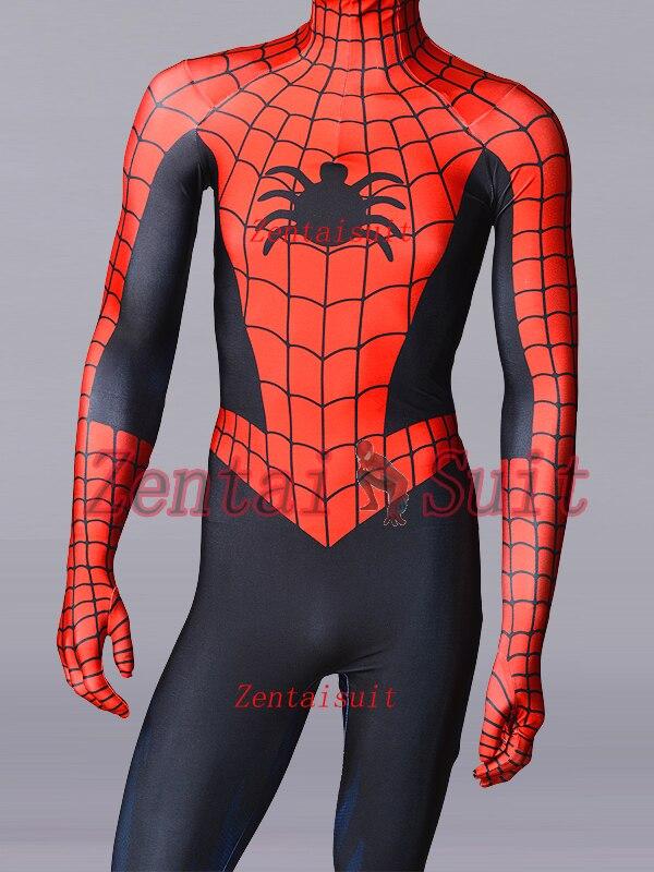 Spiderman Costume Steve Ditko Version Classic Spider-Man Cosplay Costumes Lycra Spidey Zentai Bodysuit For Adult/Kids/Custom ditko unleashed