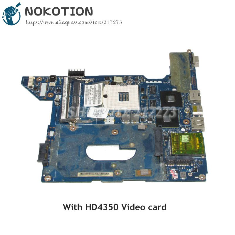 NOKOTION 590329-001 NAL70 LA-4107P Laptop Motherboard For HP Compaq CQ41 MAIN BOARD HM55 DDR3 HD4350 Video card nokotion mainboard nal70 la 4106p for hp compaq presario cq41 laptop motherboard 590330 001 hm55 ddr3 tested