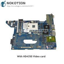 NOKOTION 590329 001 NAL70 LA 4107P Laptop Motherboard For HP Compaq CQ41 MAIN BOARD HM55 DDR3 HD4350 Video card
