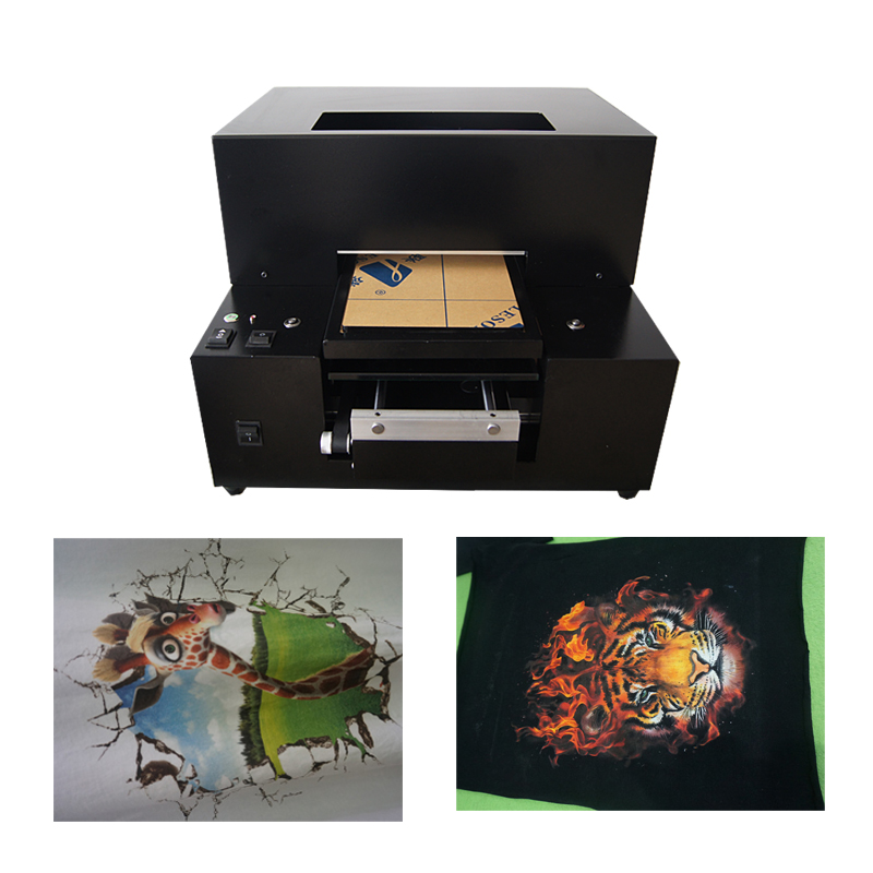 Digital T-shirt Printer 6 color  a4 small size digital t shirt printer price стоимость