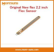 Fast Free Ship 5pcs/lot Original New flex 2.2 inch Flex Sensor/machine hand electronic gloves for Arduino bend sensor