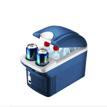 12V small fridge 24V car refrigerator 220v  Hot and cold mini fridges freezer cooler box portable