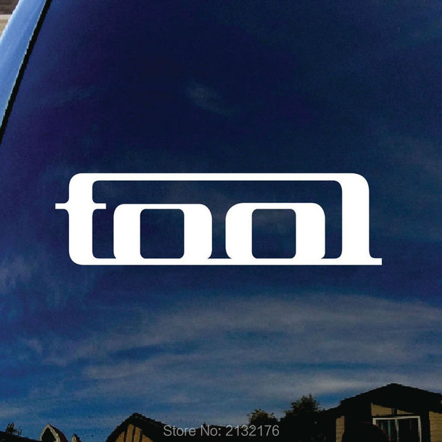 Tool band die cut car stickers vinyl decal for windows trucks tool boxes laptops