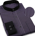 Весной Новый мужская Высокого класса Бизнес рубашки марка хлопок мужской блузка рубашка мужчины с длинным рукавом Большой размер рубашки