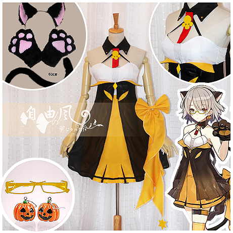 Girls Frontline Vector Cosplay Carnaval Costume Halloween Christmas