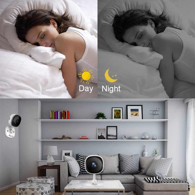 Sanan 1080 P рыбий глаз ip-камера Wifi мини беспроводная домашняя камера безопасности ночного видения панорамная камера Крытый 180 градусов