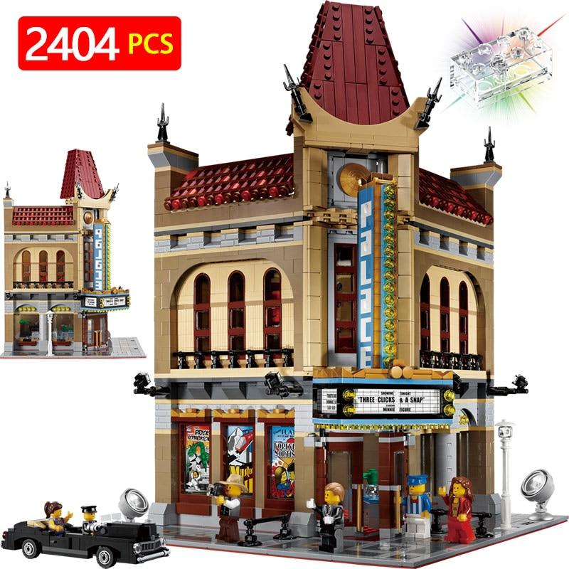 Créateurs Compatible LegoINGLYS L'architecture Creator Expert Palais Maquettes Blocs De Construction KidToy Brique Jouets Pour Enfants