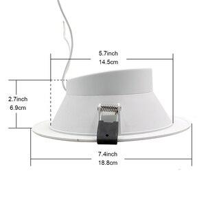 Image 5 - Zemismart luz de techo Led RGBCW, 6 pulgadas, 14W, WiFi, Control por voz, Automatización del hogar, Google Home, Alexa